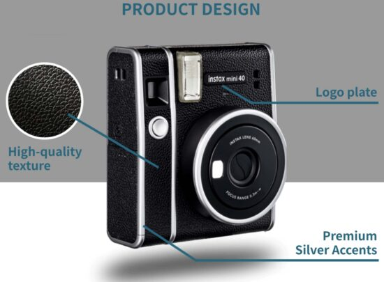 New Fujifilm Instax Mini40 camera and Instax Mini contact sheet film leaked online