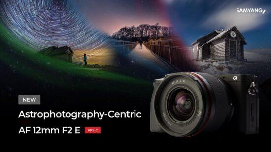 Announced: Samyang AF 12mm f/2.0 E APS-C lens for Sony E-mount