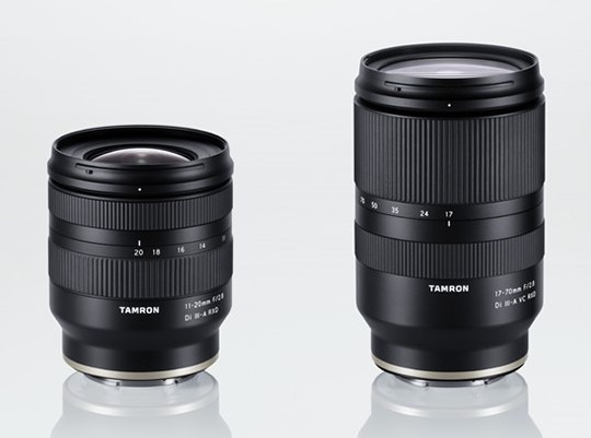 The two new Tamron lenses will be released in June