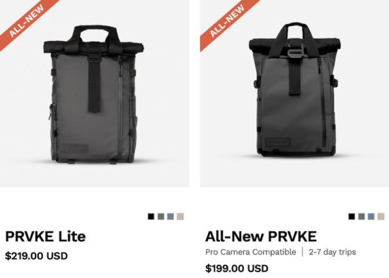 WANDRD releases new PRVKE camera bags series