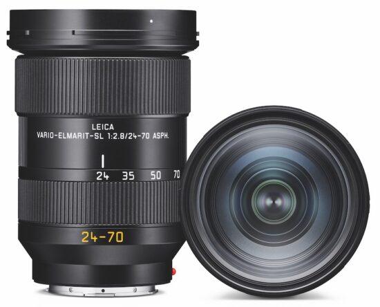 Leica Vario-Elmarit-SL 24-70 f/2.8 ASPH lens for L-mount officially announced
