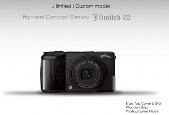 More pictures of the new Ricoh GR III J limited 02 camera