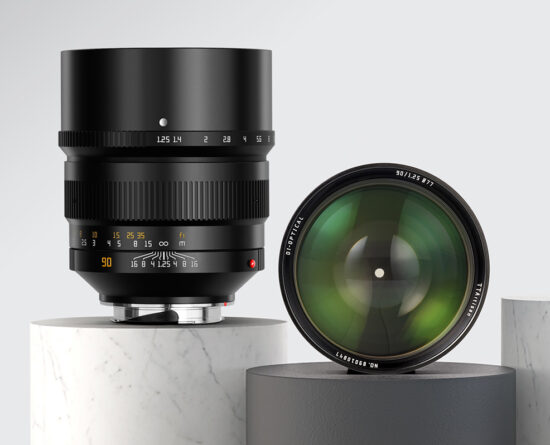 Announced: new TTartisan 90mm f/1.25 lens for Leica M-mount