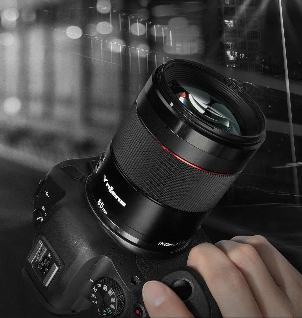 New Yongnuo YN 85mm f/1.8R DF DSM AF mirrorless lens for Canon RF mount announced