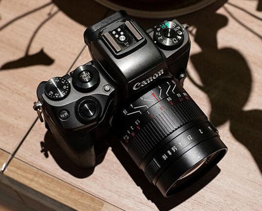 New 7artisans 55mm f/1.4 II lens also available (APS-C/MFT for E/Z/X/MFT/EOS-M mounts)