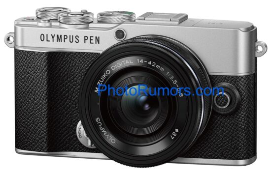 First leak pictures of the upcoming Olympus E-P7 camera (still called Olympus?)