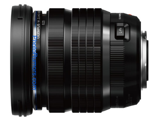 Olympus M.ZUIKO DIGITAL ED 8-25mm f/4 PRO lens pictures and specifications