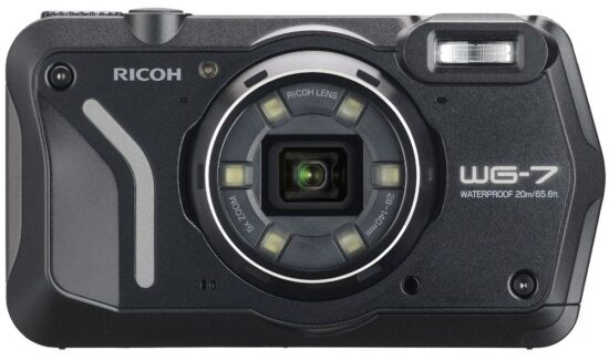 Ricoh announced a new WG-7 waterproof camera in Japan