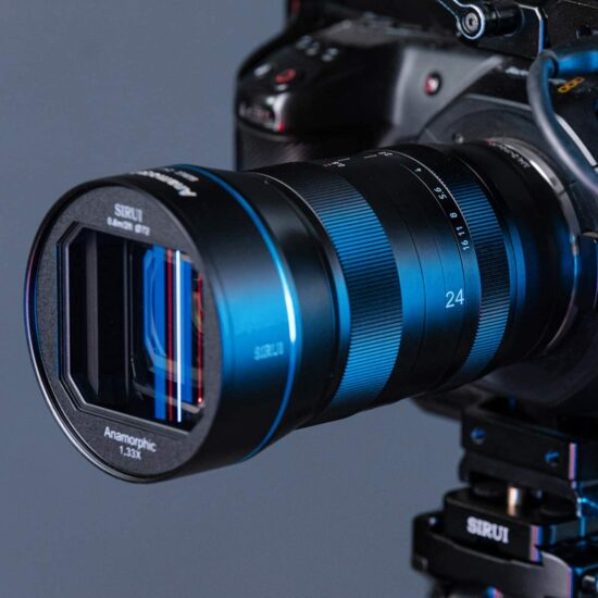The new Sirui 75mm f/1.8 1.33x anamorphic lens is now available for pre-order