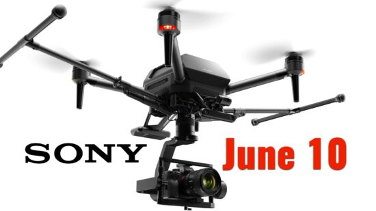 The Sony Airpeak drone is rumored for tomorrow