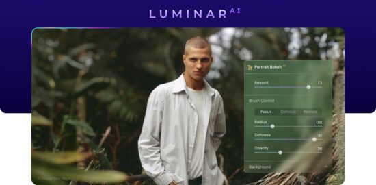 Luminar AI update 4 with new Portrait Bokeh AI released
