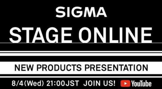 The new Sigma 150-600mm f/5-6.3 DG DN OS   Sports lens will be announced on August 4th