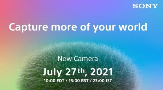 The Sony ZV-E10 camera will be announced tomorrow