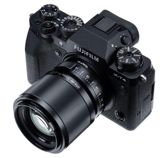 Tokina atx-m 56mm f/1.4 X lens announced