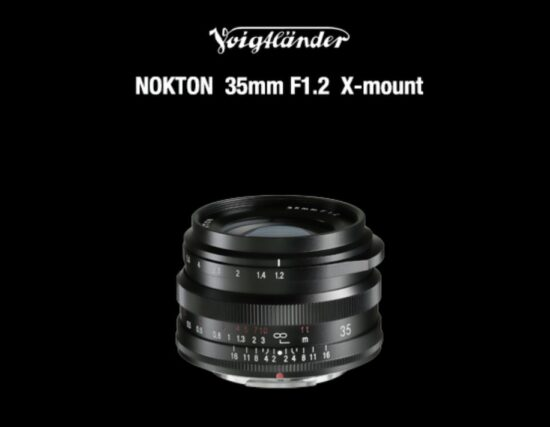 The new Voigtlander NOKTON 35mm f/1.2 lens for Fuji X-mount is now available for pre-order