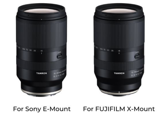 Tamron 18-300mm f/3.5-6.3 Di III-A VC VXD lens to be released on October 24