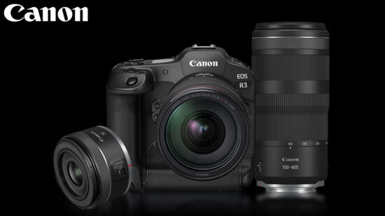 Officially announced: Canon R3 camera, two lenses, and accessories