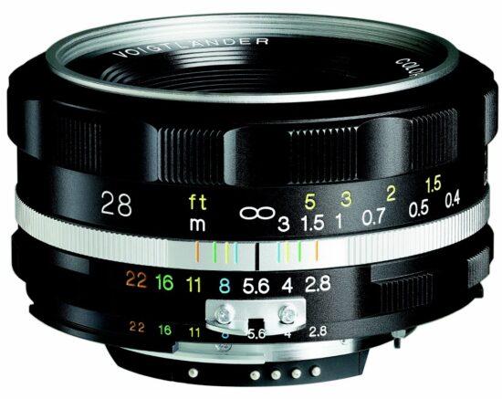 The next lens from Voigtlander: COLOR-SKOPAR 28mm f/2.8 SL II S Aspherical