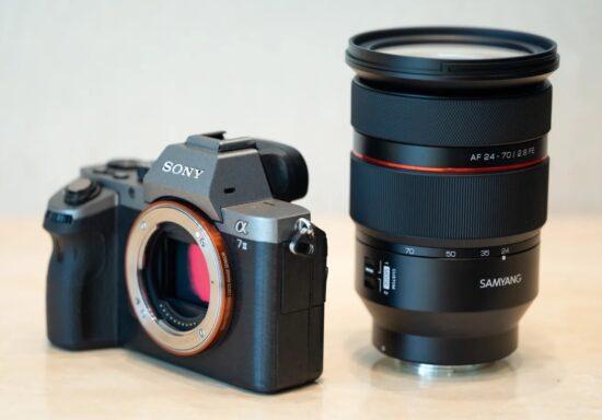 New Samyang AF 24-70mm f/2.8 FE lens leaked online