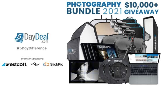 The new 5DayDeal Photography Bundle 2021 giveaway starts today