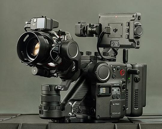 Announced: DJI Ronin 4D cinema camera with a built-in gimbal and LIDAR focusing