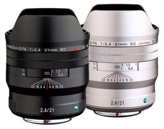 Announced: HD PENTAX-D FA 21mm f/2.4 ED Limited DC WR lens