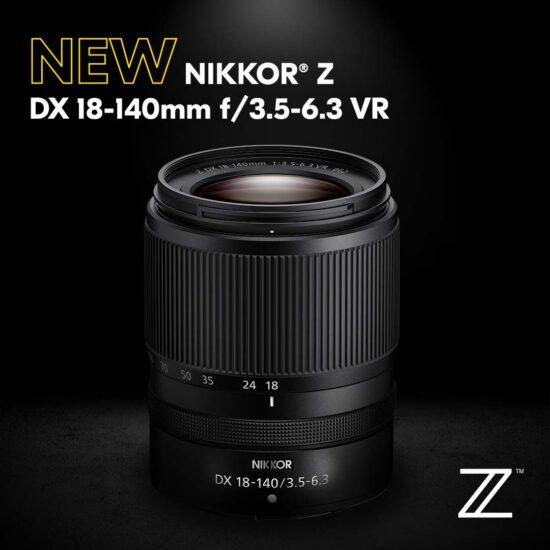 Released: Nikon NIKKOR Z DX 18-140mm f/3.5-6.3 VR lens