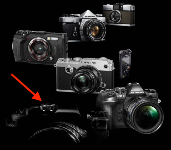 First glimpse of the upcoming OM System (Olympus) high-end flagship mirrorless camera